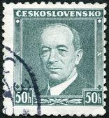 československo - 1936: zobrazuje prezident eduard beneš (1884-1948) — Stock fotografie