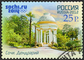 RUSSIA - 2012: shows Arboretum, Russian Black Sea coast tourism,  Russian Black Sea coast tourism, XXII Olympic Winter Games 2014 in Sochi — Stock Photo
