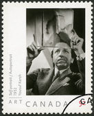 CANADA - 2008: shows self-portrait of Yousuf Karsh (1908-2002), 1952, portrait photographer — Stock Photo