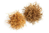 Tumbleweed on  white background — Stock Photo