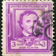 Постер, плакат: USA 1949: shows Edgar Allan Poe 1809 1849 writer and poet