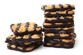 Cookies with sesame and chocolate — Stock Photo