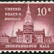 USA - 1956: shows Independence Hall — Stock Photo #51188157