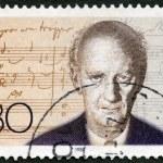 Постер, плакат: GEMANY 1986: shows Wilhelm Furtwangler 1886 1954 composer