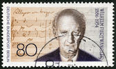 GEMANY - 1986: shows Wilhelm Furtwangler (1886-1954), composer — Stock Photo