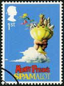 UNITED KINGDOM - 2011: shows Monty Python's Spamalot, series Musicals — Stock Photo