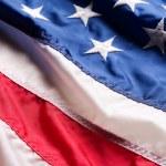 Amerika Birleşik Devletleri bayrağı — Stok fotoğraf