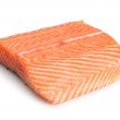 Piece of salmon — Stock Photo