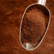 Spoon of coffee — Stock Photo