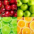 Fruit background — Stock Photo #12611593