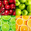 Royalty-Free Stock Photo: Fruit background