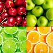 Fruit background — Stock Photo #12611593