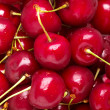 Cherries background - Stock Photo