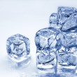 Stock Photo: Melting ice cubes