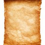 antieke papier scroll — Stockfoto