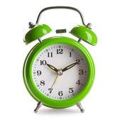 緑の目覚まし時計 — ストック写真