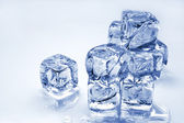 Melting ice cubes — Stock fotografie