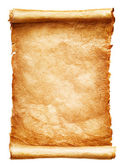 Antique paper scroll — Stock Photo