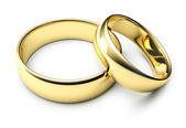 Gold rings — Stock Photo