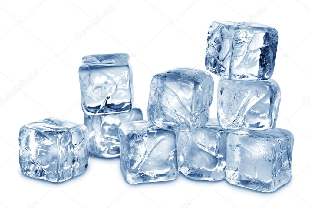 Кубики из льда в домашних условиях