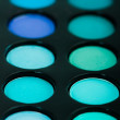 Blue and green eye-shadows — Stock Photo #13330834