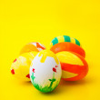 colored easter eggs — Stock Photo #13331250