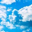 Blue sky and clouds — Stock Photo #13331494