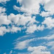 Blue sky and clouds — Foto Stock