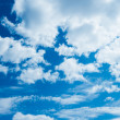 Blue sky and clouds — Stock Photo #13331564