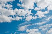 Nuvole e cielo blu — Foto Stock