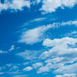 Blue sky and clouds — Stock Photo #20194001