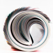 Magazine Roll. Side view. — Stock Photo