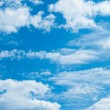 Blue sky and clouds — Stock fotografie
