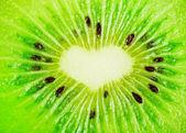 Close up of a healthy kiwi fruit — Stock Photo