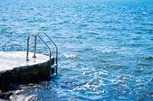 水泳海階段 — ストック写真