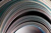 Rolo de revista. vista lateral. — Foto Stock