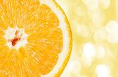 Closeup of orange — Stock Photo