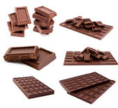 Set of chocolate — Stock Photo