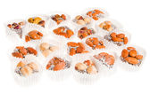 Variety of sweets turkish — Stock Photo