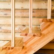 Stock Photo: Wooden staircase