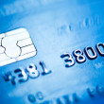 Credit card, macro — Stock Photo #21572567