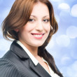 Stock Photo: Smiling business woman
