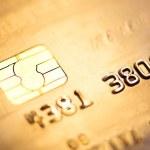 Credit card, macro — Stock Photo #21574255
