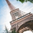 Vertical oriented image famous Eiffel Tower in Paris, France. — Stock Photo #21574959