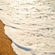 Sandy beach of sea — Foto Stock