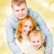 Portrait young family — Stock Photo #21576827