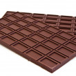 Chocolate bars — Stock Photo