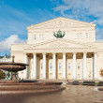 Bolshoi Theatre in Moscow — Stock Photo