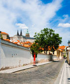 Street in Prague — Stock Photo