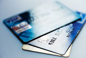 Credit cards — Stock Photo